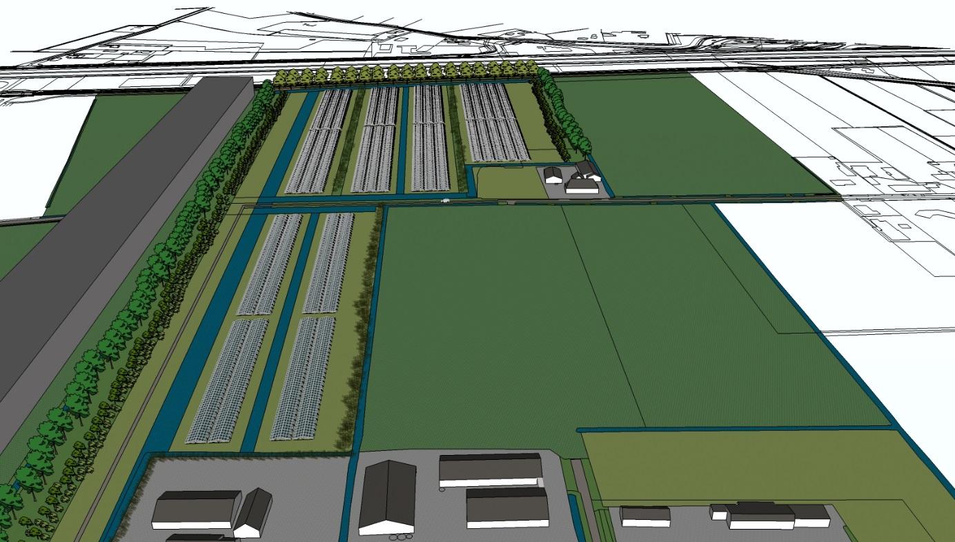 Gemeenteraad Bernheze stemt in met zonnepark Achterste Groes